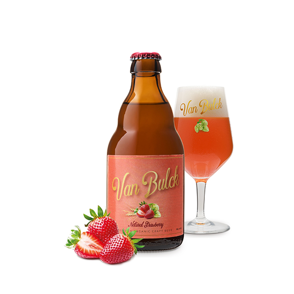 NATURAL STRAWBERRY 16x33cl