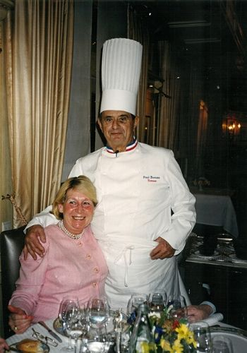 Liesbeth Van Bulck and Paul Bocuse